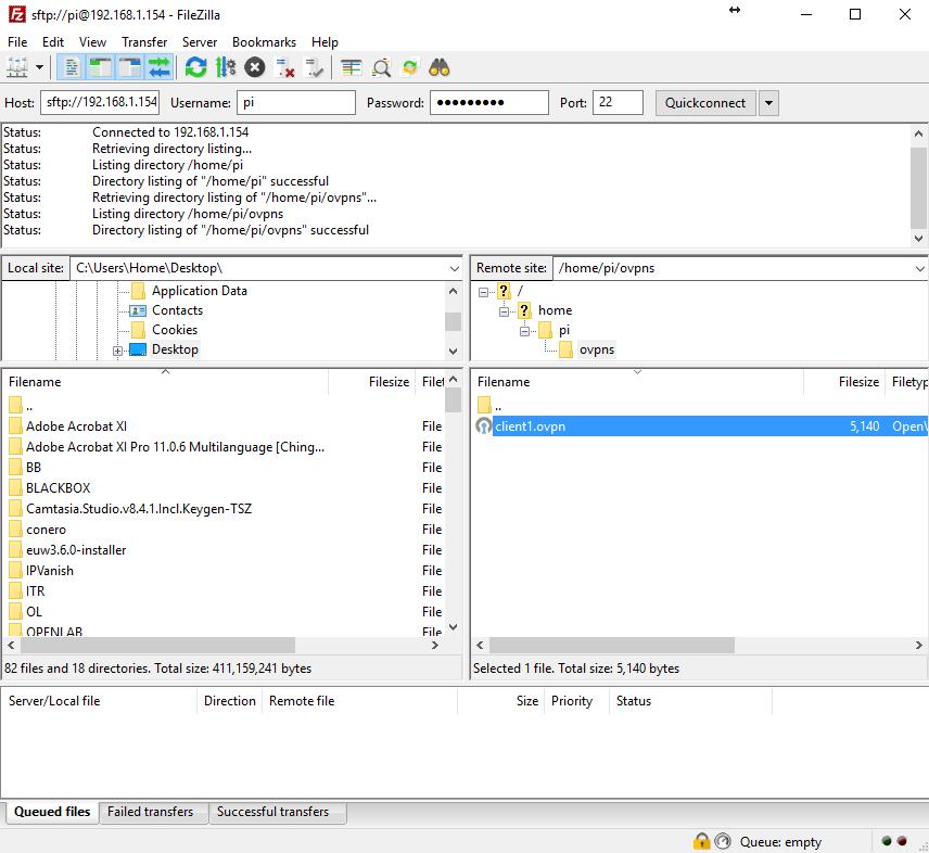 How to setup OpenVPN on a RaspberryPi - Dirty Optics