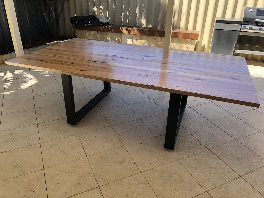 The Most Solid Diy Outdoor Table Ever
