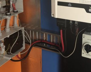 Battery Connection to inverter