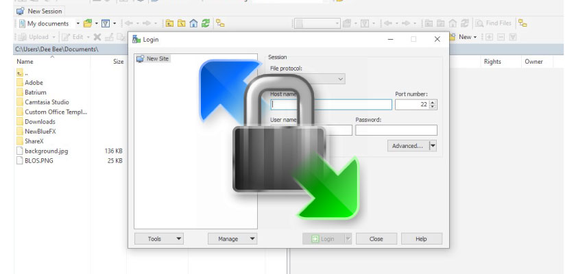 WinSCP FTP and SFTP Client