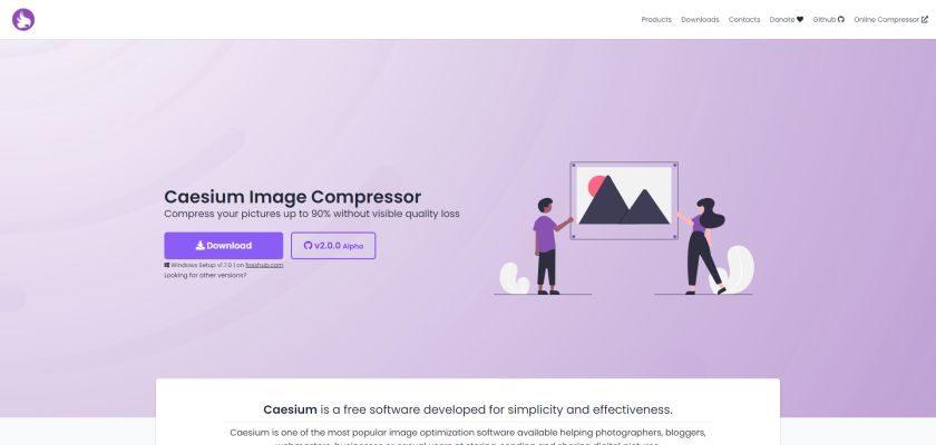 CAESIUM Image compression